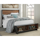 Stavani Queen Panel Bed with Storage
