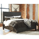 Baylow King Panel Bed with 4 Storage Drawers