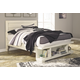 Blinton Queen Panel Bed with Storage