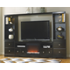 Shay 4-Piece Entertainment Center with Fireplace