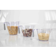 Home Accents 3-Piece Measuring Cup with Rubber Grip