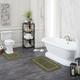 Mohawk Facet Bath Rug Celadon (2'x3' 4