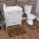 Mohawk Envision Studio Bath Rug Brown (2'x3' 4