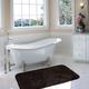 Mohawk Riverside Bath Rug Dark Brown (1' 8