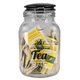 Home Accents Glass Jar with Ceramic Flip Lid Top