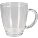 Home Accents Tapered Glass Mug with Thick Handle, Clear