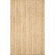 Nuloom Hand Woven Rigo Jute 5' x 8' Area Rug