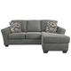 Terrarita Sofa Chaise and Pillows