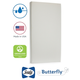 Kolcraft Sealy Butterfly Breathable Knit Crib Mattress and Toddler Mattress