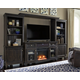 Townser Entertainment Center with Fireplace and Wireless Pairing Spe
