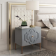 Anna Gray Lacquer Side Table