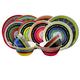 Gibson Home Almira 12-Piece Dinnerware Set in 4 Assorted Colors