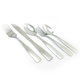 Gibson Home Abbeville 61 Piece Stainless Steel Flatware Set with Wire Caddy