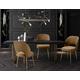 Swell Swell Cognac Velvet Chair