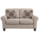 Aldy Loveseat and Pillows