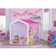 Delta Children Disney Princess Indoor Playhouse with Fabric Tent for Boys and Girls