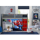 Delta Children Spider-man Loft Bed Tent - Curtain Set For Low Twin Loft Bed (bed Sold Separately)