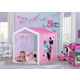 Delta Children Disney Minnie Mouse Indoor Playhouse With Fabric Tent For Boys And Girls
