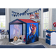Delta Children Marvel Spider-Man Indoor Playhouse with Fabric Tent for Boys and Girls