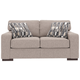 Ashlor Nuvella® Loveseat and Pillows