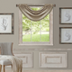 Home Accents All Seasons Waterfall Window Valance, Taupe, 52