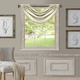 Home Accents All Seasons Waterfall Window Valance, Ivory, 52