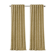 Home accents Mia Jacquard Scroll Blackout Window Curtain Panel, Gold, 52