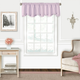 Home accents Adaline Nursery and Kids Ruffled Window Valance, Lavender, 52