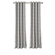 Home accents Julianne Window Curtain Panel, Gray, 52