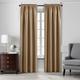 Home accents Colette Faux Silk Blackout Window Curtain Panel, Gold, 52
