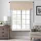 Home Accents Vanderbilt Scallop Tassel Window Valance, Natural, 50