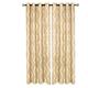 Home accents Medalia Room Darkening Geometric Window Curtain, Toasted Wheat, 52