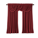 Home Accents All Seasons Blackout Window Curtain Panel, Rouge, 52