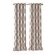 Home Accents Navara Medallion Room Darkening Window Curtain Panel, Cinnamon, 52