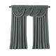 Home Accents All Seasons Blackout Window Curtain Panel, Dusty Blue, 52