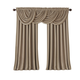 Home Accents All Seasons Blackout Window Curtain Panel, Taupe, 52