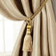 Home Accents Amelia Decorative Tassel Window Curtain Tieback, Natural, 24