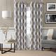 Home Accents Navara Medallion Room Darkening Window Curtain Panel, Navy, 52