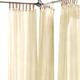 Home Accents Darien Indoor/Outdoor Sheer Tab Top Window Curtain, Natural, 52