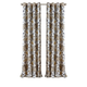 Home Accents Sorrento Room Darkening Window Curtain, Gray/Gold, 52
