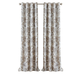 Home Accents Sorrento Room Darkening Window Curtain, Natural, 52