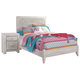Paxberry Full Panel Bed with Nightstand
