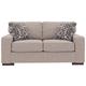 Ashlor Nuvella® Loveseat and Pillows