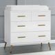 Delta Children Sloane 4 Drawer Dresser with Changing Top