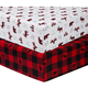 Sammy and Lou Lumberjack 2 Pack Microfiber Fitted Crib Sheets