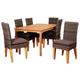 Clemente 7-Piece Teak Rectangular Dining Set