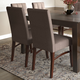 Ezra  Contemporary Deluxe Dining Chair (Set of 2)