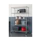 TRINITY EcoStorage™ 5-Tier 48x24x72 Wire Shelving NSF
