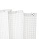Kenney Medium Weight Embossed PEVA Shower Curtain Liner, 70