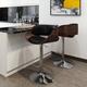 Amery Mid Century Modern Adjustable Swivel Bar Stool